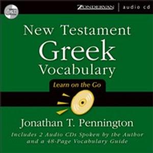 New Testament Greek Vocabulary - ISBN: 9780310243823