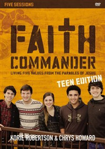 Faith Commander Teen Edition Video Study - ISBN: 9780310884514