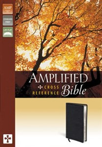 Amplified Cross-Reference Bible, Bonded Leather, Black - ISBN: 9780310432340