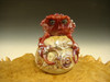 Glass Red Crab Paperweight by Eli Mazet Sculpture figurine Ocean Art ( Ready to Ship ) VGW