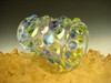Hand blown Glass Jewel Jar or Shot Glass Flameworked by Eli Mazet (ready to ship)