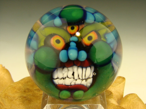 Glass marble goblin