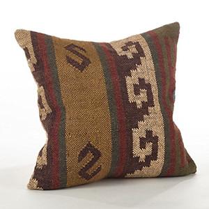 """Fennco Styles Kilim Collection Design Down Filled Throw Pillow - 20""""x20"""""""