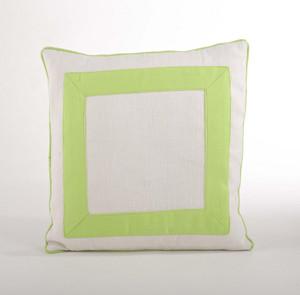 "Crete Banded Decorative Throw Pillow, 18""x18"""