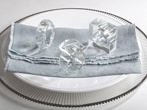 Elegant Wedding Events Crystal Design Napkin Rings