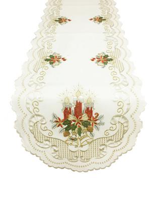 Fennco Styles Fête De Noël Holiday Décor Table Linen Collection