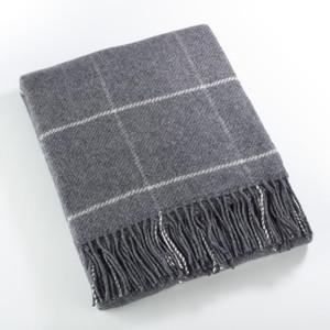 Fennco Styles Sevan Collection Geometric Design Wool Blend Throw Blanket