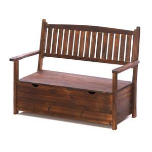 Fennco Styles Garden Grove Outdoor Decorative Storage Bench