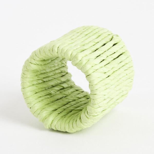 Raffia Napkin Rings, Set of 4