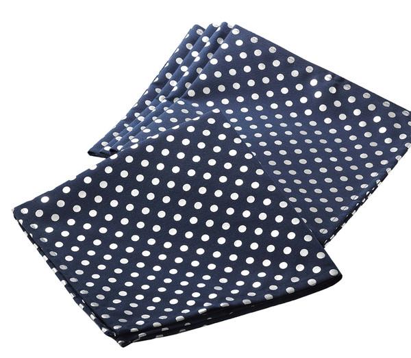 Fennco Styles Silver Dot Napkin, Set of 4
