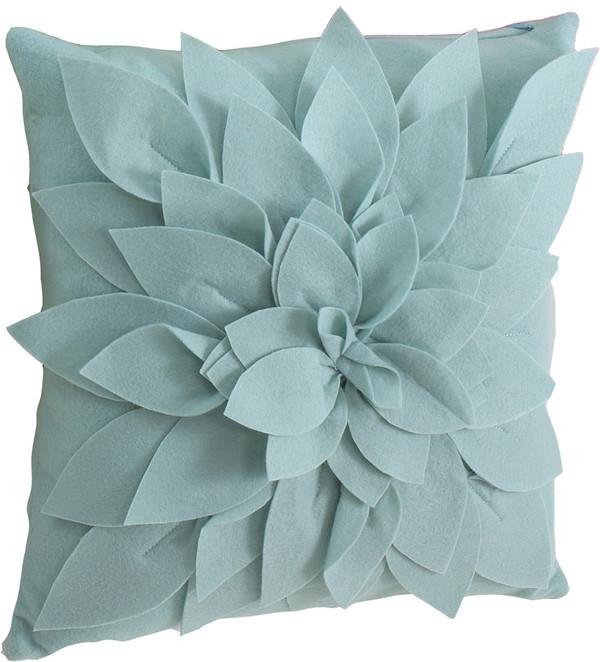 Sara's Garden Petal Decorative Throw Pillow
