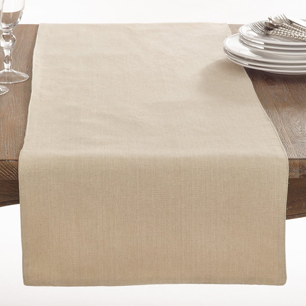 Fennco Styles Brigitte Collection Classic Design Cotton Table Runner