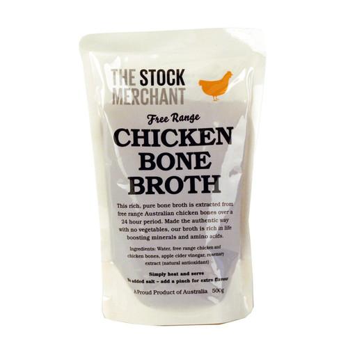 The Stock Merchant Bone Broth Free Range Chicken