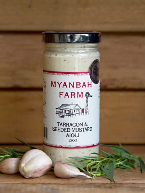 Myanbah Tarragon & Seeded Mustard Aioli