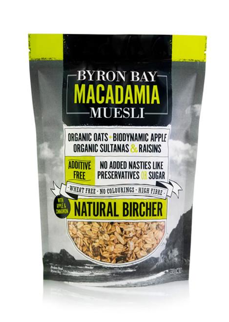 Byron Bay Macadamia Muesli Bircher