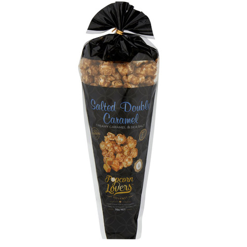 Popcorn Lovers Salted Double Caramel