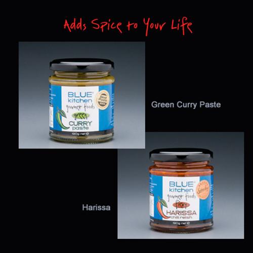 Blue Kitchen Green Curry Paste