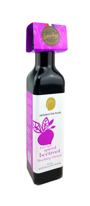 Nicholson's Fine Foods Euro Style Spiced Beetroot Finishing Vinegar Box
