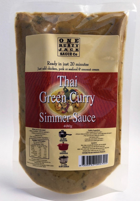 One Rusty Jack Simmer Sauce Thai Green Curry