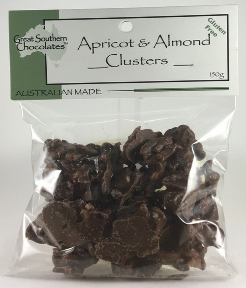 Great Southern Chocolates Apricot & Almond Clusters