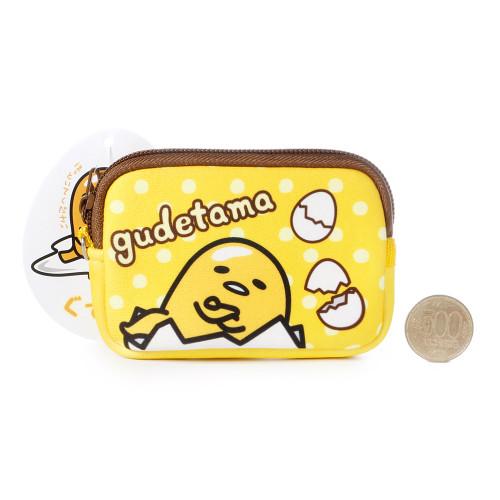 16 off sanrio gudetama lazy egg brown edge neoprene fabric coins