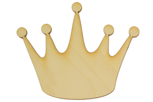 Wooden Crown Cutout