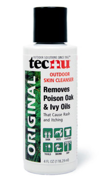 TECNU OUTDOOR SKIN CLEANSER 4 OZ, 48 BOTTLES