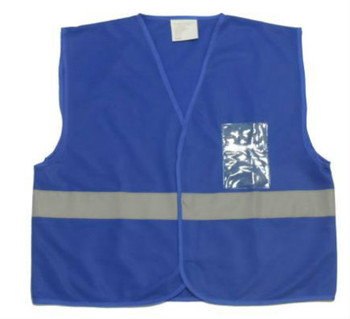 BLUE NON ANSI SAFETY VEST