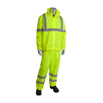 ANSI CLASS 3 TWO PIECE RAINSUIT SET