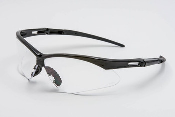 SAFETY GLASSES CLEAR LENS AL9381C, 12 PAIRS TO BOX