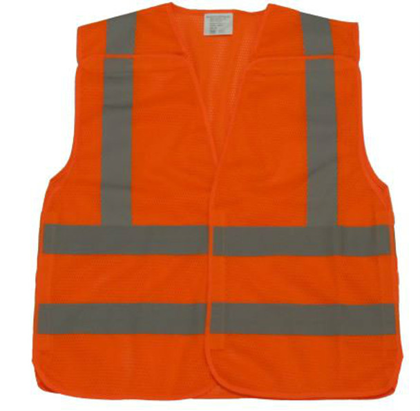 ANSI CLASS 2,5 POINT BREAK AWAY SAFETY VEST