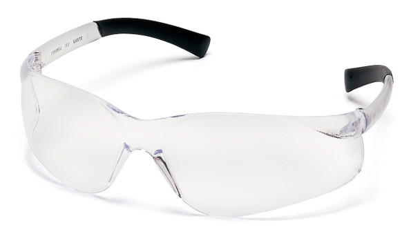 SAFETY GLASSES CLEAR LENS AL211G, 12 PAIRS TO BOX