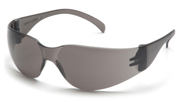 SAFETY GLASSES GRAY LENS AL173C, 12 PAIRS TO BOX