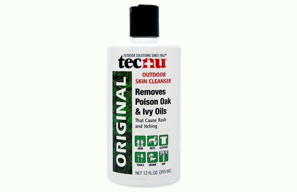 TECNU OUTDOOR SKIN CLEANSER 12 OZ, 12 BOTTLES