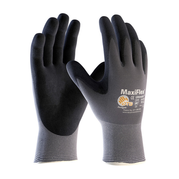 MAXIFLEX ULTIMATE GLOVES 34-874 -12 PAIRS
