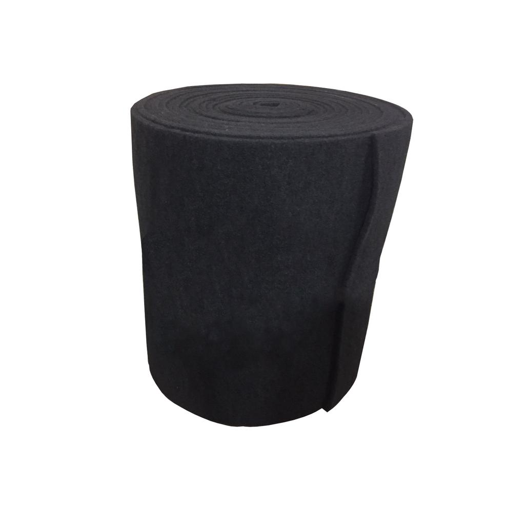 "1"" Coarse Black Bulk Filter Mat"