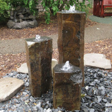 Basalt Columns - Polished Tops