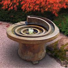 Hurricane's Eye Patio Fountain