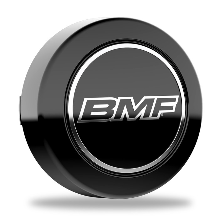 BMF 8-lug short center caps. For Wheels with 125mm hub bore.