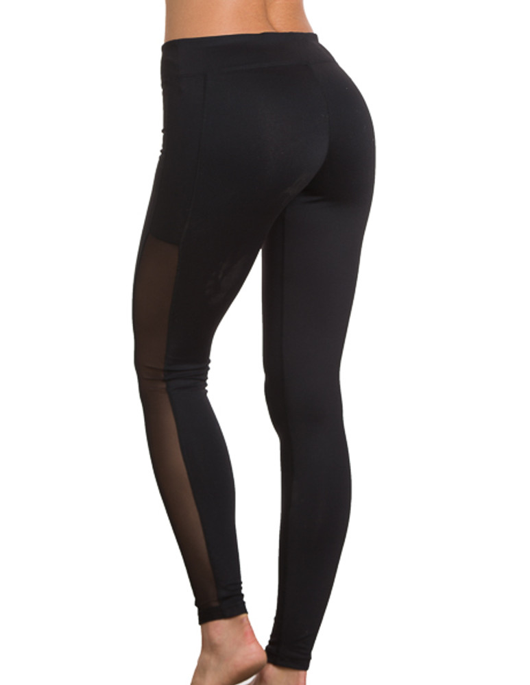 Charlotte Athletic Pants Black with Black Trim