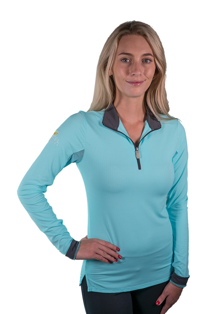 Charlotte Signature Collection Turquoise with Asphalt Trim