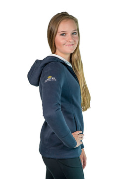 Christine Hooded Sweatshirt Navy