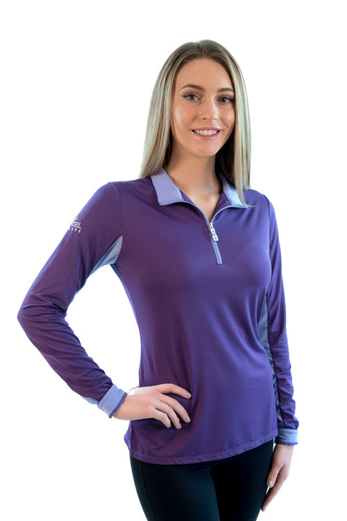 Charlotte Signature Collection Purple with Light Purple Trim