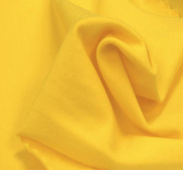 Jersey Spandex Solid Yellow