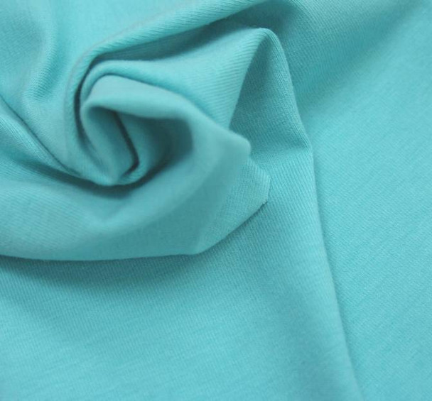 Jersey Spandex Solid Verde Agua