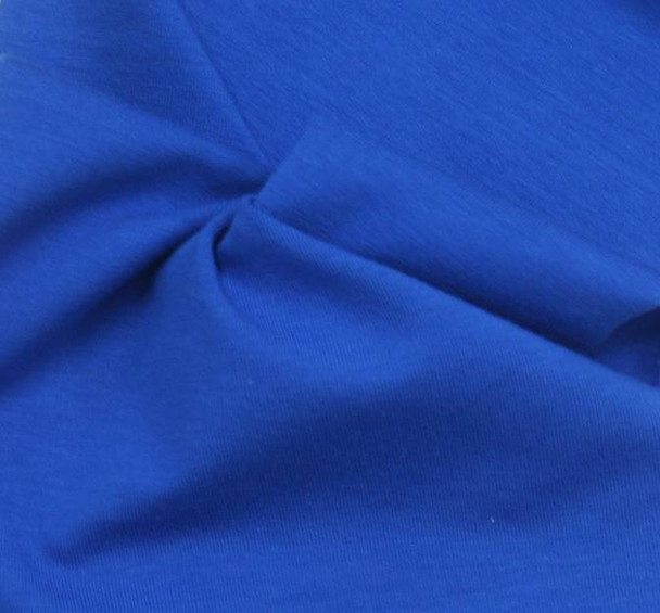 Jersey Spandex Solid Royal
