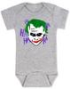 The Joker baby Onesie, Joker Halloween baby onsie, grey