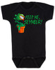 Feed Me Seymour baby onesie, Little Shop of Horrors, Funny movie baby onesie, classic movie infant bodysuit, Audrey plant, Venus fly trap, rick moranis, hangry baby, hungry baby onsie, black