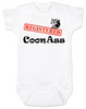 Registered Coon Ass Baby Onesie, Coon-Ass, Certified Coon Ass, Cajun baby, born in Louisiana, Registered coon-ass