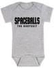spaceballs the bodysuit, spaceballs the movie baby gift, grey